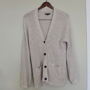 American Eagle Button Front Cardigan